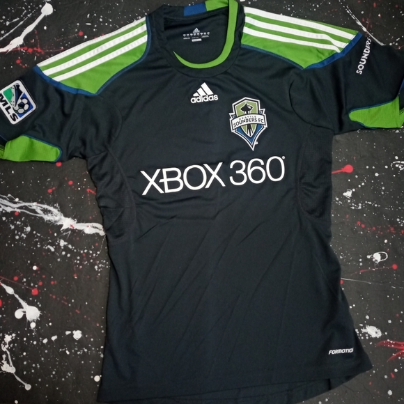 Seattle Sounders FC climacool Adidas soccer jersey
